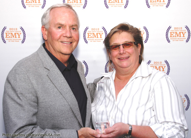 Exhibit Manager of the Year Winner Honored