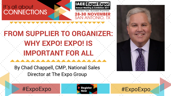 From Supplier to Organizer – Why Expo! Expo! is Important To All