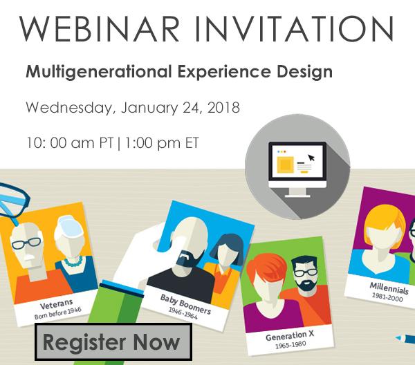 Multigenerational Experience Design Webinar