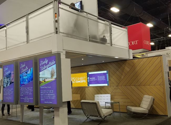 Top 6 Design Trends from ExhibitorLIVE