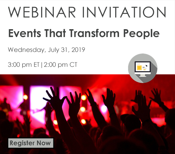 WEBINAR: Events That Transform People