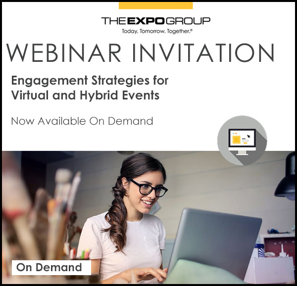 WEBINAR: Engagement Strategies for Virtual & Hybrid Events
