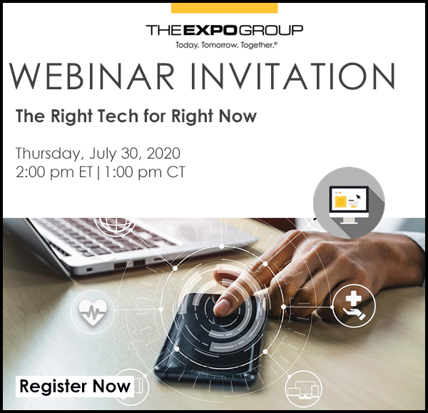 WEBINAR:  The Right Tech for Right Now
